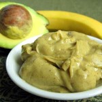 Avocado Yoghurt with Banana (square)