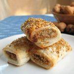 Vegan Sausage Rolls Recipe - Stack of Rolls