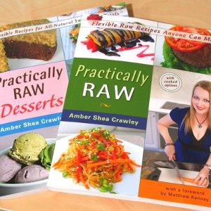 Practically Raw cookbooks (square)