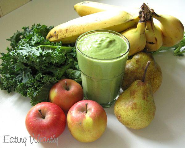 Winter green smoothie