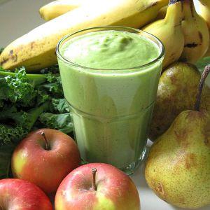 Winter green smoothie recipe