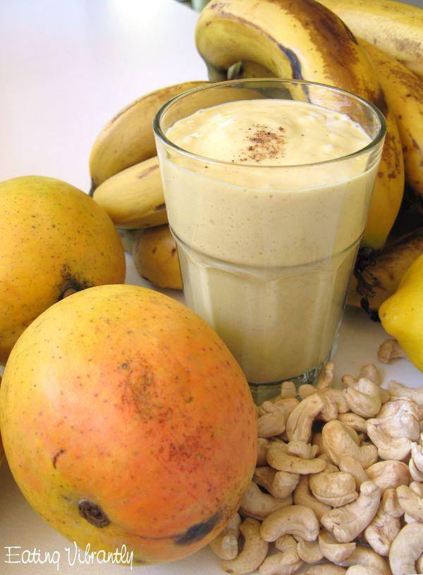 Raw Mango Lassi (Vegan, Paleo)