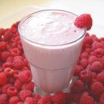 Banana raspberry smoothie recipe