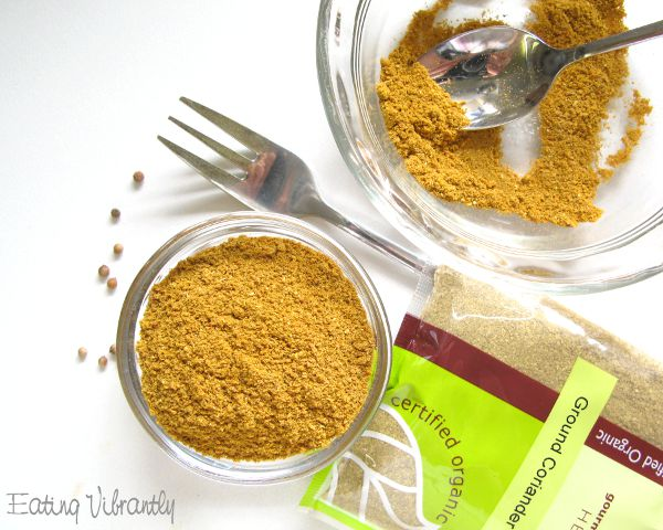 Homemade mild curry powder blend