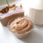 Raw vegan chocolate coconut pudding