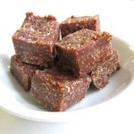 Nut-Free Raw Vegan Chocolate Fudge