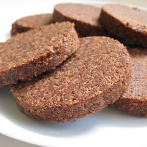 Raw Vegan Chocolate Cookies