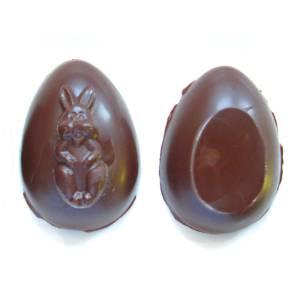 Raw Vegan Chocolate Easter Eggs