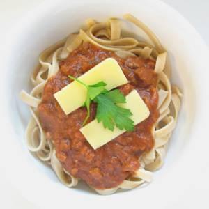Simple Vegan Bolognese