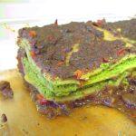 Vegan Lasagna with Spinach and Mushrooms - 1 serve