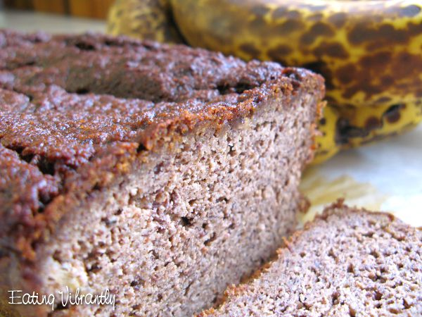 Wholefood Vegan Banana Bread Closeup