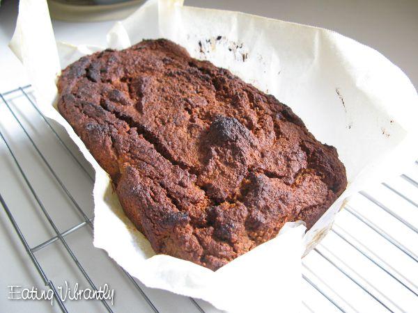 Wholefood Vegan Banana Bread Loaf