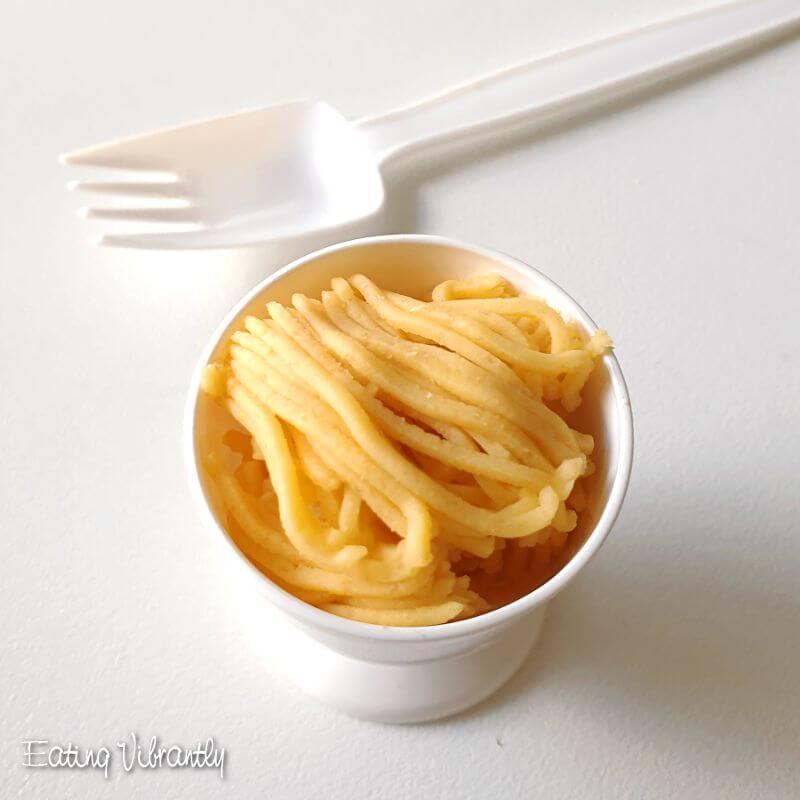 Homemade Playdough Spaghetti Worms Hair