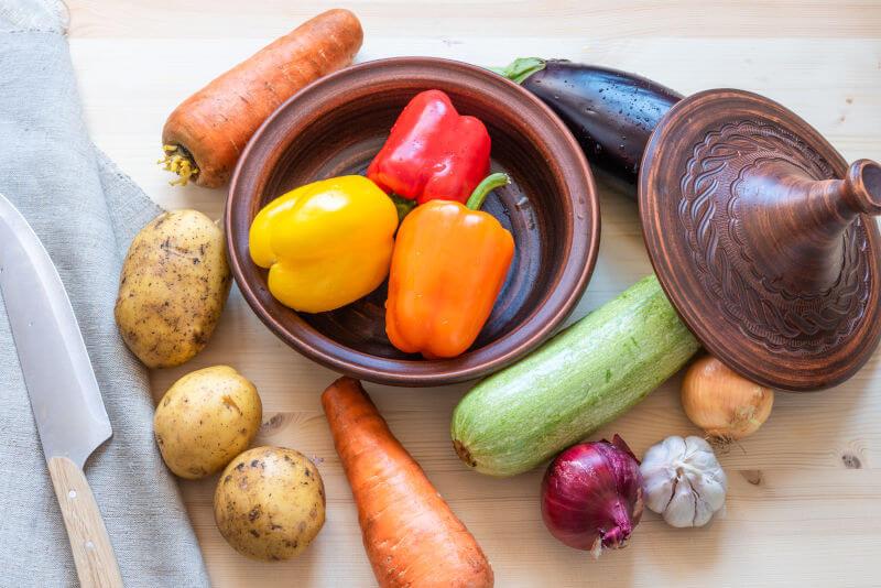 Moroccan Tagine Pots n Vegan Cooking