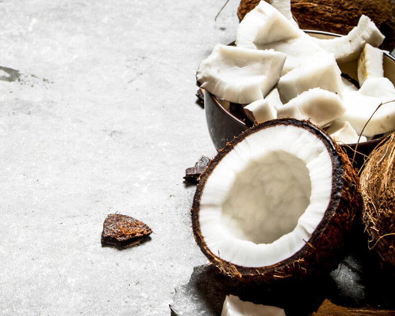 Making coconut flour at home